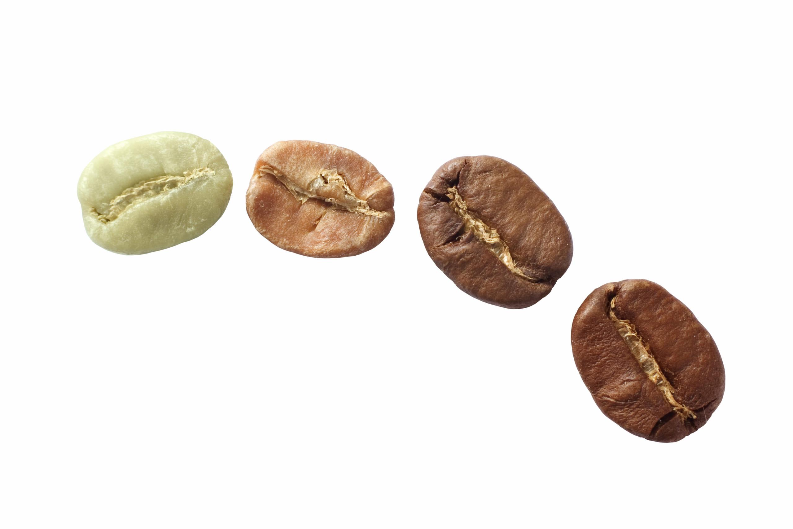 Biến đổi vật lý rang cà phê