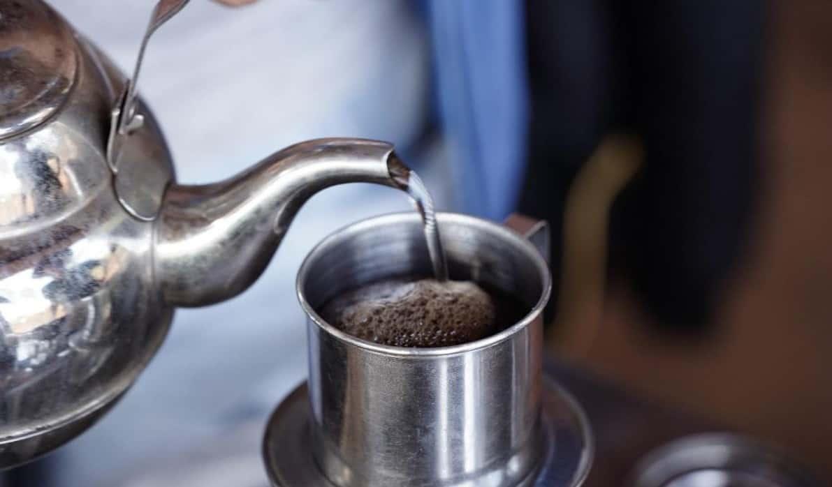 Nguyên liệu để pha chế cà phê