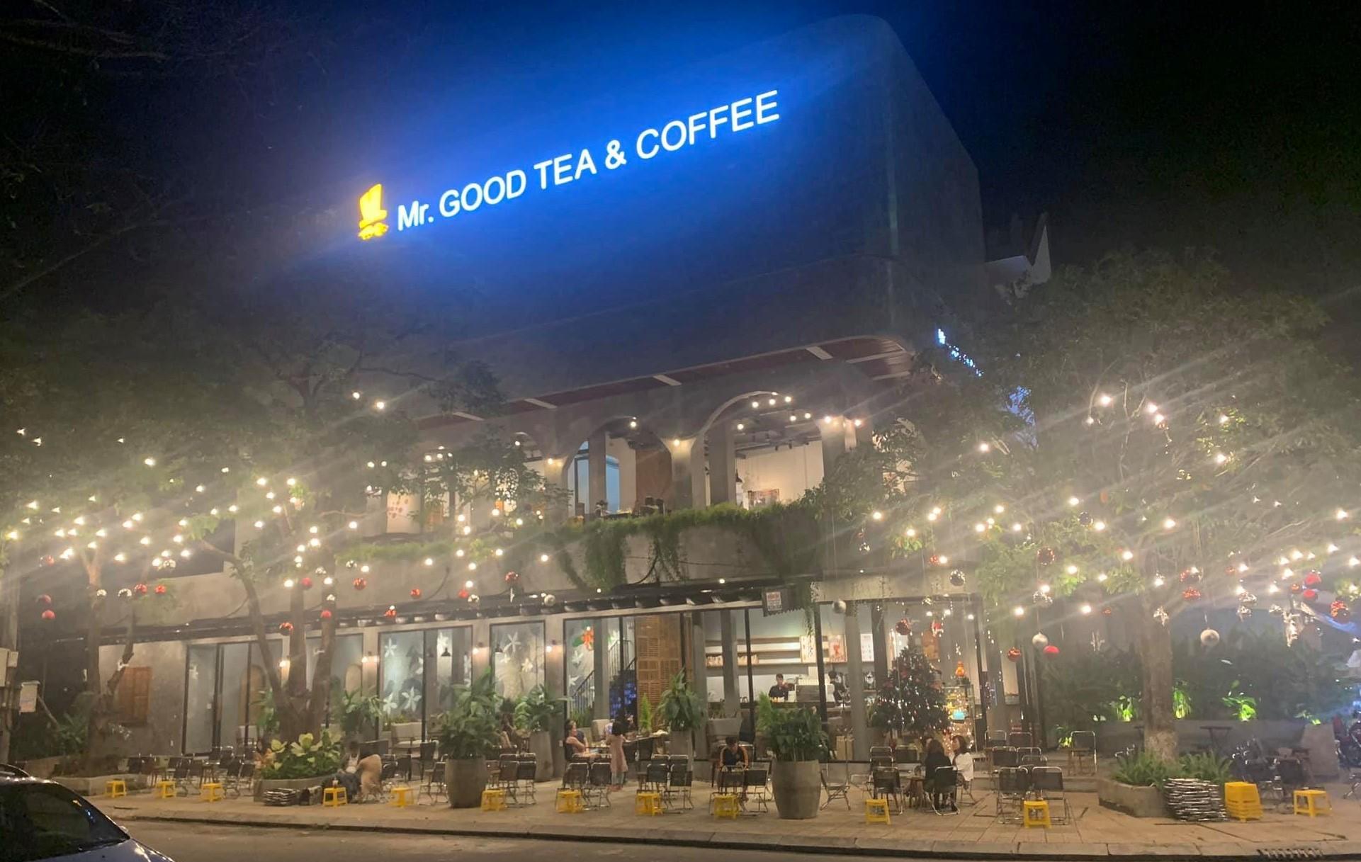thương hiệu trà sữa Mr. Good Tea